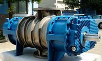 三叶罗茨式蒸气压缩机